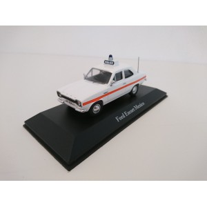 1/43 VOITURE FORCES DE L'ORDRE FORD ESCORT MEXICO UK Voiture police anglaise-CORGI ATLAS