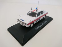 1/43 VOITURE FORCES DE L'ORDRE Ford Cortina MkIII UK Voiture police anglaise-CORGI ATLAS