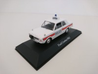 1/43 VOITURE FORCES DE L'ORDRE FORD CORTINA MKII UK Voiture police anglaise-CORGI ATLAS