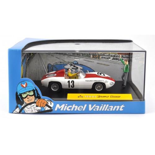 1 43 diorama voiture miniature michel vaillant le mans texas driver bocar ixo altaya vente de. Black Bedroom Furniture Sets. Home Design Ideas