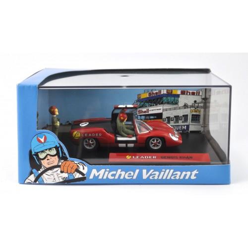 1 43 diorama voiture miniature de collection michel vaillant le mans leader gengis khan edition. Black Bedroom Furniture Sets. Home Design Ideas