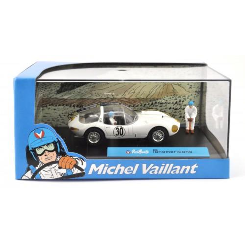 1 43 diorama voiture miniature de collection michel vaillant le mans panamericana ixo altaya. Black Bedroom Furniture Sets. Home Design Ideas