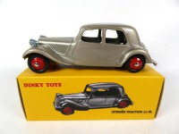 1/43 CITROËN VOITURE MINIATURE DE COLLECTION  Citroën Traction 11 BL-24N-DINKY TOYS DeAgostini