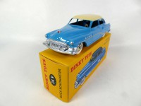 1/43 BUICK VOITURE MINIATURE DE COLLECTION Buick Roadmaster bleue-24V-DINKY TOYS DeAgostini