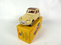 1/43 CITROËN VOITURE MINIATURE DE COLLECTION Citroën 2 CV Modèle 61-DINKY TOYS DeAgostini