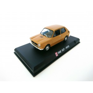 1/43 FIAT VOITURE MINIATURE DE COLLECTION Fiat 127 1972-HACHETTE AUTO PLUS
