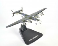 1/144 AVION FORCES DE L'ORDRE MILITAIRE Consolidated B-24 Liberator-AVION MODEL PLANE AIRCRAFT-ATLAS