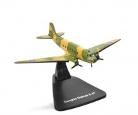 1/144 AVION MINIATURE DE COLLECTION Douglas Dakota C-47-AVION MODEL PLANE AIRCRAFT-ATLAS