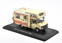 1/43 CAMPING-CAR MINIATURE DE COLLECTION PILOTE R470 CITROEN C25 -1980-IXOHACHETTE