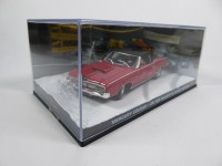 1/43 DIORAMA mercury cougar-au service secret de sa majeste - james bond 007 -Eaglemoss / Universal Hobbies-DY021