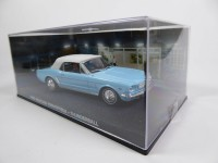 1/43 DIORAMA ford mustang convertible-thunderball - james bond 007 -Eaglemoss / Universal HobbiesDY030