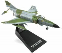 1/200 AVION FORCES DE L'ORDRE MILITAIRE MINIATURE DE COLLECTION Mc Donnell Douglas RF-4E Phantom 2-ATLAS