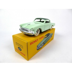 1/43 Studebaker Commander vert pale-DINKY TOYS 24Y-Réédition Editions Atlas