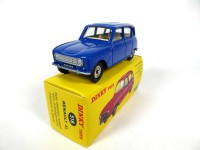 1/43 RENAULT VOITURE MINIATURE DE COLLECTION Renault 4L (R4) bleue-DINKY TOYS 518-Réédition Editions Atlas