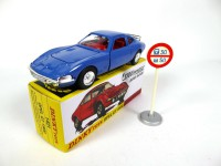 1/43 Opel GT 1900 Speed Wheels + panneau-DINKY TOYS 1421-Réédition Editions Atlas