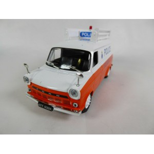 1/43 FORD VEHICULE FORCES DE L'ORDRE POLICE MINIATURE DE COLLECTION Ford Transit Mk1 Police anglaise UK-IST