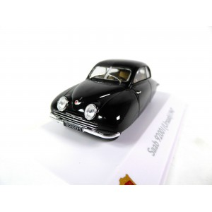 1/43 SAAB VOITURE MINIATURE DE COLLECTION SAAB 9200 I URSAAB-1947-NOIR-ATLAS