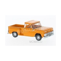 1/87 HO VEHICULE UTILITAIRE MINIATURE CHEVROLET STEPSIDE PICK UP 1965 ORANGE-OXFORD87CP65002