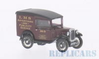 1/76 VEHICULE PUBLICITAIRE MINIATURE DE COLLECTION AUSTIN SEVEN RN VAN LMS-OXFORD76ASV004