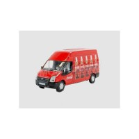 1/76 VEHICULE UTILITAIRE MINIATURE DE COLLECTION FORD TRANSIT COCA COLA-OXFORD76FT013CC