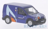 1/76 UTILITAIRE PUBLICITAIRE FORD TRANSIT CONNECT BRITISH GAS-OXFORD76FTC004