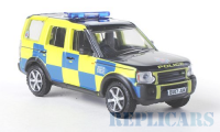 1/76 VOITURE FORCES DE L'ORDRE LAND ROVER DISCOVERY POLICE ESSEX-OXFORD76LRD001