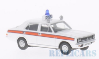 1/76 VEHICULE FORCES DE L'ORDRE MINIATURE MORRIS MARINA POLICE-OXFORD76MAR004