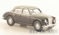 1/76 VOITURE MINIATURE DE COLLECTION MG ZB, black/grey-OXFORD76MGZ008