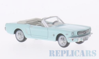 1/87 HO VOITURE Ford Mustang Convertible, turquoise, 1956-OXFORD87MU65002