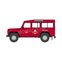 1/148 VEHICULES MINIATURE DE COLLECTION LAND ROVER DEFENDER ROYAL MAIL-OXFORDNDEF002