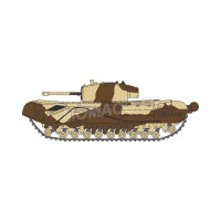1/148 VEHICULES FORCES DE L'ORDRE MILITAIRE CHURCHILL TANK KINGFORCE-OXFORDNCH001