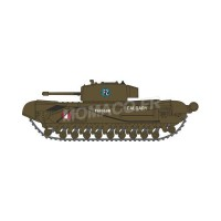 1/148 MILITAIRE MINIATURE CHURCHILL TANK MKIII 1ST CANADIAN ARMY BGD. DIEPPE 1942-OXFORDNCHT002