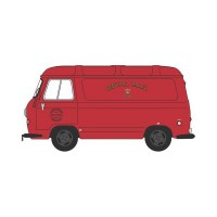 1/76 UTILITAIRES PUBLICITAIRE MINIATURE DE COLLECTION MORRIS J4 VAN ROYAL MAIL-OXFORD76J4001