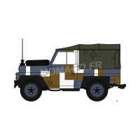 "1/43 VEHICULES FORCES DE L'ORDRE MILITAIRE LAND ROVER LIGHTWEIGHT CANVAS ""BERLIN""OXFORD43LRL004"