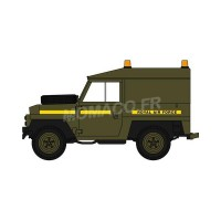 "1/43 VEHICULES FORCES DE L'ORDRE MILITAIRE LAND ROVER LIGHTWEIGHT ""RAF - ROYAL AIR FORCE""OXFORD43LRL005"