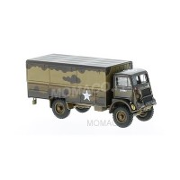 1/76 CAMION MILITAIRE MINIATURE BEDFORD QLT 1ST POLISH ARM. DIVISION NETHERLAND 1944-OXFORD76QLT003