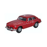 1/76 VOITURE MINIATURE DE COLLECTION  MGBGT ROUGE-OXFORD76MGBGT001