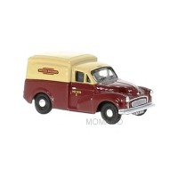 1/76 VEHICULE MINIATURE DE COLLECTION MORRIS MINOR VAN BRITISH RAIL-OXFORD76MM059