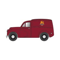 1/76 VEHICULES MINIATURE PUBLICITAIRE MORRIS MINOR VAN BRITISH RAILWAYS-OXFORD76MM060