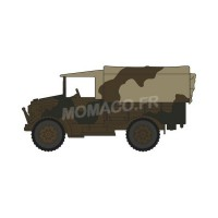 1/76 CAMION FORCES DE L'ORDRE MILITAIRE BEDFORD MWD 2 CORPS 1/7TH MIDDLESEX REG. FRANCE 1940-OXFORD76MWD007