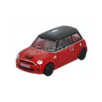 1/148 VOITURE MINIATURE DE COLLECTION NEW MINI ROUGE TOIT NOIR-OXFORDNNMN001