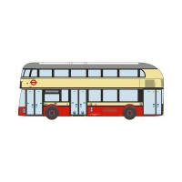 1/148 AUTOBUS/AUTOCAR MINIATURE DE COLLECTION NEW ROUTEMASTER LT50 GENERAL-OXFORDNNR006