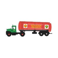 "1/76 CAMION CITERNE MINIATURE SCAMMEL HIGHWAYMAN TANKER ""SHELL - BP""OXFORD76SHT001"
