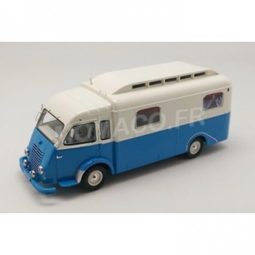 1 43 camping car miniature renault goelette camping car notin 1951 perfex314 vente de voitures. Black Bedroom Furniture Sets. Home Design Ideas