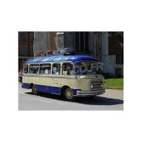 "1/43 AUTOBUS MINIATURE DE COLLECTION RENAULT GALLION BUS AMIOT ""OISEAU BLEU""PERFEX322"