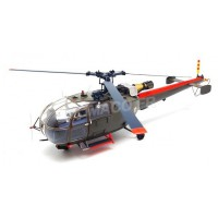 1/43 HELICOPTERE FORCES DE L'ORDRE SUD-AVIATION ALOUETTE 3 HELICOPTER MILITAIRE ARMEE DE TERRE-PERFEX710