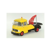 1/18 CAMION MINIATURE DE COLLECTION MERCEDES-BENZ L319 DEPANNEUSE JAUNE-Premium ClassiXXsPREMIUM30000