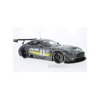 1/12 VOITURE MINIATURE DE COLLECTION MERCEDES-BENZ AMG GT3 STARS AND CARS 2015-PREMIUMCLASSIXX PREMIUM40055