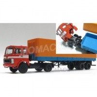 1/43 CAMION MILITAIRE MINIATURE DE COLLECTION MAZ 5432-PREMIUM CLASSIXXSPREMIUM47050
