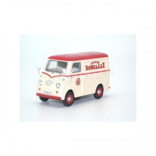 1 43 utilitaire de cirque goggomobil tl 250 fourgon roncalli beige rouge premium. Black Bedroom Furniture Sets. Home Design Ideas